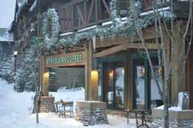 Snowshoe Village Starbucks